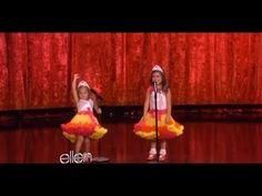 Sophia Grace & Rosie Perform 'Moment 4 Life'