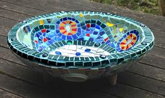 Ro Bruhn - one of my mosaic water bowls