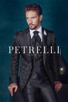 Petrelli Uomo abito sposo 2015 collezione Top Gold