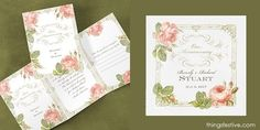 perfectly coordinated wedding invitations & napkins #wedding #WeddingInvitations #WeddingNapkins