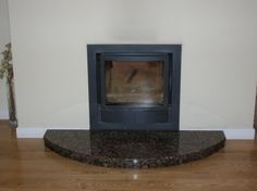 Inset stove with no surround