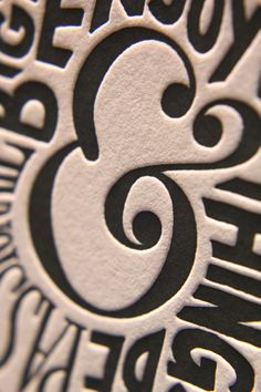 The Beauty of Letterpress: Ampersand Lifestyle Coaster