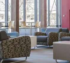 KI furnishes spaces that allow students to socialize, study, collaborate, learn and relax!