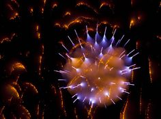 Long Exposure Fireworks – by David Johnson