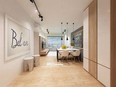 HDB BTO Scandinavian Industrial Concept At Anchorvale Harvest - Interior Design Singapore