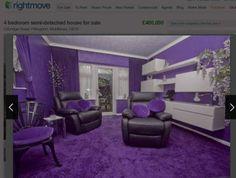 Purple house! (Picture: Rightmove)