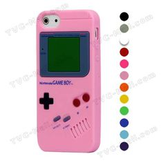 Nintendo Game Boy Silicone Cover Case for iPhone 5