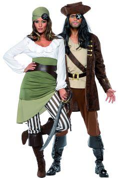 piratas couples halloween - Buscar con Google