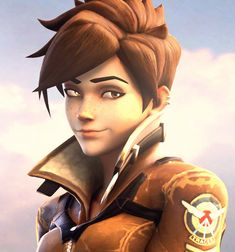 """overwatchesports: """" Tracer by DrMeowsAlot """" Overwatch Character Models have made it to Source Filmmaker! I imagine this is old news to some of you since we even shared a few images from SFM recently, but if this is the first time hearing this,..."""