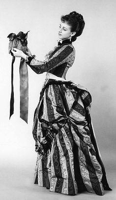 1888 Silk Dress - Charles Frederick Worth