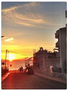 Stunning sunset views near Mambo café #ibizasunset #cafemambo