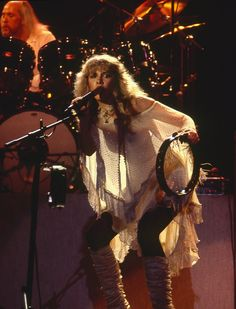 Stevie Nicks........ Well maybe I'm just thinking that the rooms are all on fire every time that you walk in the room.  There is magic all around here if If do say so myself  I have known this much longer than I've known you......
