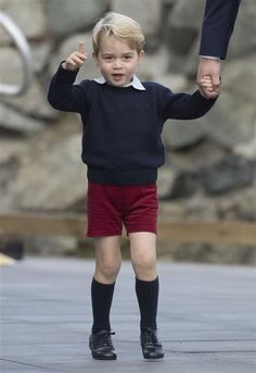 Prince George says goodbye - Prince William & Duchess Kate's royal tour of Canada: All the photos
