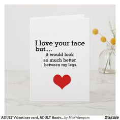 Choose from thousands of Valentine cards, add photos or text; Naughty Valentines, Cute Valentines Day Gifts, Valentines Gifts For Boyfriend, Valentine Day Cards, Boyfriend Gifts, Valentines Day Couple, Holiday Cards, Birthday Notes For Boyfriend, Anniversary Cards For Boyfriend