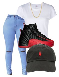 """Untitled #56"" by queenpetty on Polyvore featuring RE/DONE, Ralph Lauren and King Ice"