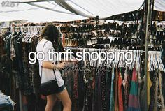 #371: Go thrift shopping - Check! <<< Why is this even a bucket list item???? I have been doing this forever! Junk stores rule!