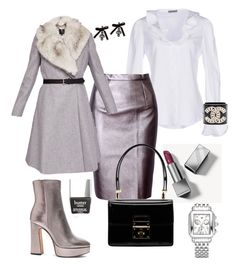 """Untitled #9"" by cristina-vasile90 on Polyvore featuring Alexander McQueen, WithChic, Ted Baker, Alexandre Birman, Burberry, Dolce&Gabbana and Dsquared2"