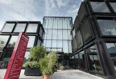 Tagungslocation Bürohaus element Dornbirn Atrium, Fair Grounds, Fun, Travel, Event Room, Latest Technology, New Construction, Viajes, Traveling
