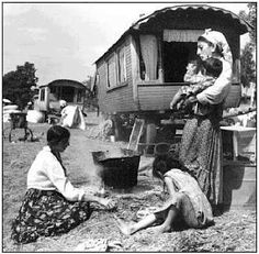 PRE WAR ROMANIA ~ Gypsies