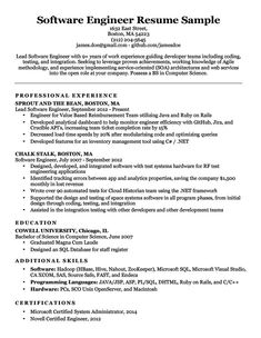sample resume of a cashier