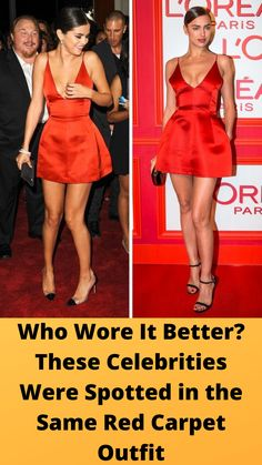 Who #Wore It Better? These #Celebrities Were Spotted in the Same Red #Carpet Outfit Online Shopping Fails, Bridal Dresses, Prom Dresses, Natural Makeup Looks, Hair Transformation, Bridal Makeup, Bridal Nails, Summer Dresses For Women, Hilarious Memes