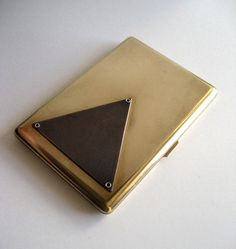 Triangle Case- can be used for cigarettes or as a wallet