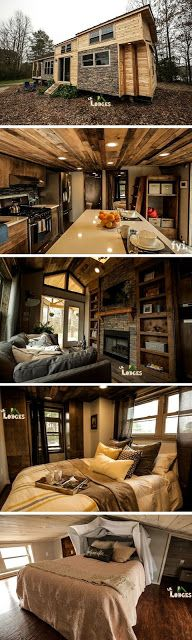 mytinyhousedirectory: This is one of our favorite Tiny HousesA Cozy RV T...