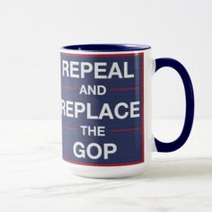 #Vote out the GOP! Resist! Mug - #drinkware #cool #special