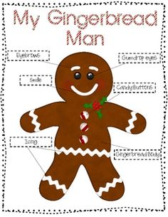 Gingerbread family ELA packet $2.50 on TpT