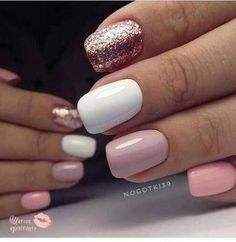 In seek out some nail designs and ideas for your nails? Here is our listing of must-try coffin acrylic nails for modern women. Cute Acrylic Nails, Fun Nails, Pretty Nails, Shellac Nails Glitter, Pastel Nails, Glitter Nail Art, Bling Nails, Classy Nail Art, Classy Simple Nails