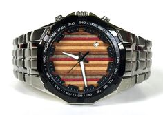 Skate Watch - Recycled Skateboards - Wrist Watch Made in Canada