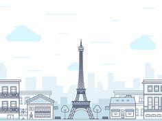 """""""Paris"""" by FireArt Studio"""