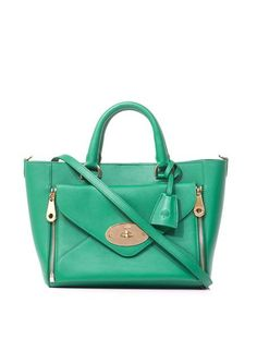 Mulberry - Green Small Willow Tote - Lyst da2d5fc995713