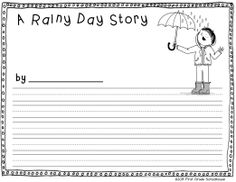 Spring Writing for Firsties. First grade writing activities with a spring theme.