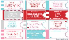 Printable Love Coupon Book I Heart Nap Time | I Heart Nap Time - Easy recipes, DIY crafts, Homemaking
