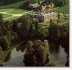 Althorp Estate, including the island where Princess Diana is buried