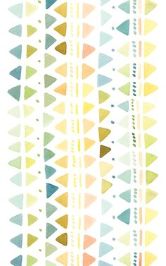 free watercolour desktop wallpapers from Design Love Fest Wallpaper Gratis, Pattern Wallpaper, Wallpaper Backgrounds, Wallpaper Desktop, Aztec Wallpaper, Watercolor Wallpaper, Pretty Patterns, Beautiful Patterns, Color Patterns