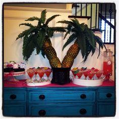 Pineapple palm tree,