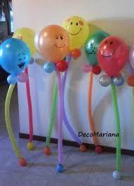 Resultado de imagen para decoracion con globos