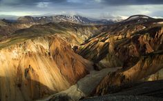 The Nature of Photographs: Rhyolite Maze Wallpaper Landscape Nature.