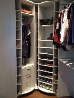 lazy susan for shoes | lazy susan shoe rack diy