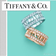 18K WG Tiffany & Co. Atlas 0.58 CT Diamond Ring REASONABLE OFFERS CONSIDERED ❤️ Tiffany & Co. 18K White Gold Roman numeral diamond ring (0.58 CTW) ring size 4.5. Due to the width of this ring, it fits ring size 4.0. Good condition and comes with Tiffany blue box and soft pouch as shown. Just had it polished on 8/4/15. Sorry no trades. Thanks for looking ✨✨✨✨✨✨✨This currently sells for $4100 on their site. Tiffany & Co. Jewelry Rings