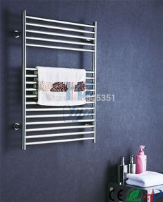chromed heated towel rail stainless steel electric towel dryer towel warmer towel radiator HZ-933