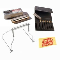 Hohner 1896 Marine Band Diatonic Harmonica Bundle with Seven-Harmonica Folding Carrying Case, Harmonica Holder, and Polishing Cloth - Key of B Flat by Hohner. $62.99. Bundle includes Hohner 1896 Marine Band Diatonic Harmonica, Seven-Harmonica Folding Carrying Case, Harmonica Holder, and Polishing Cloth.The one, the only, the original. The Marine Band has been the cornerstone of the harmonica industry for over 100 years and was there when harmonica blues was born. THe chosen ha...