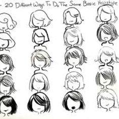 Como dibujar pelo