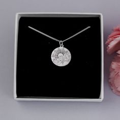 Virgo Star Sign, Feather Jewelry, Birthstone Charms, Beautiful Gift Boxes, Meaningful Gifts, Handmade Silver, Sterling Silver Pendants, Necklace Lengths, Mother Nature