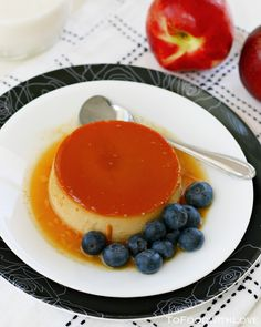 To Food with Love: Cheesecake Flan