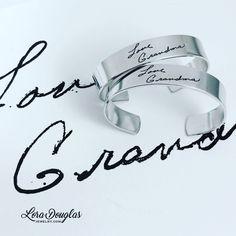 Handwriting Cuff #Jewelry #handmadejewelry #jewelrymaking #maker #accessories #style #handmade #etsy #handwriting #etsyseller #etsyjewelry #fashionjewelry #forsale #fashion #family #memories #love #silver #bracelet #handwritingjewelry