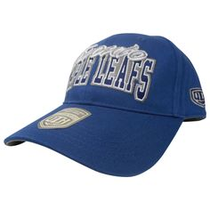 Toronto Maple Leafs Old Time Hockey Men's Chipper Scripted Adjustable Hat - shop.realsports - 1