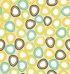 A seamless offset pattern vector